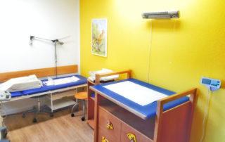 Behandlungsraum 2 Kinderarzt Schwarmstedt