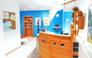 Eingangsbereich Kinderarzt Schwarmstedt